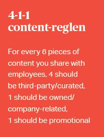 4-1-1-content-regel til at kuratere indhold