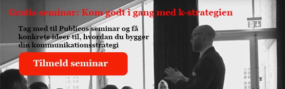 Seminar k-strategi