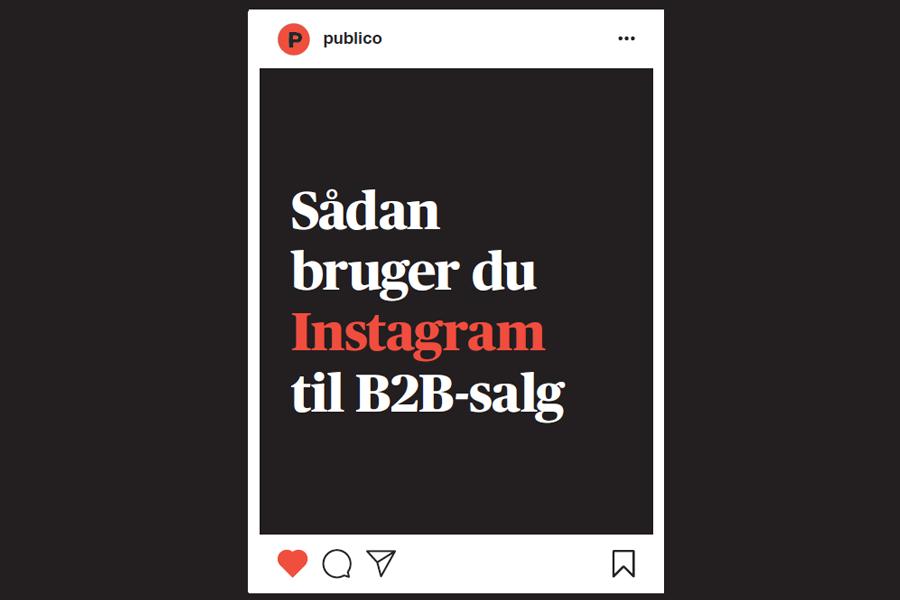 Den ultimative guide til instagram for B2B-virksomheder - forside-1