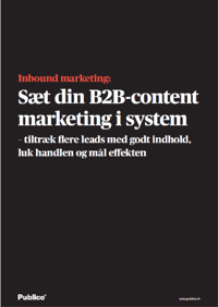 Inbound marketing e-bog