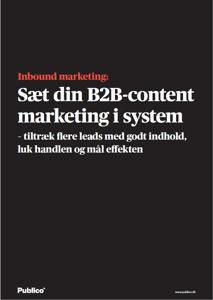 Inbound marketing e-bog