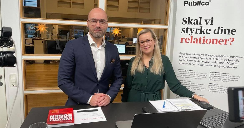 Thomas og Karen holder webinar om Content Marketing