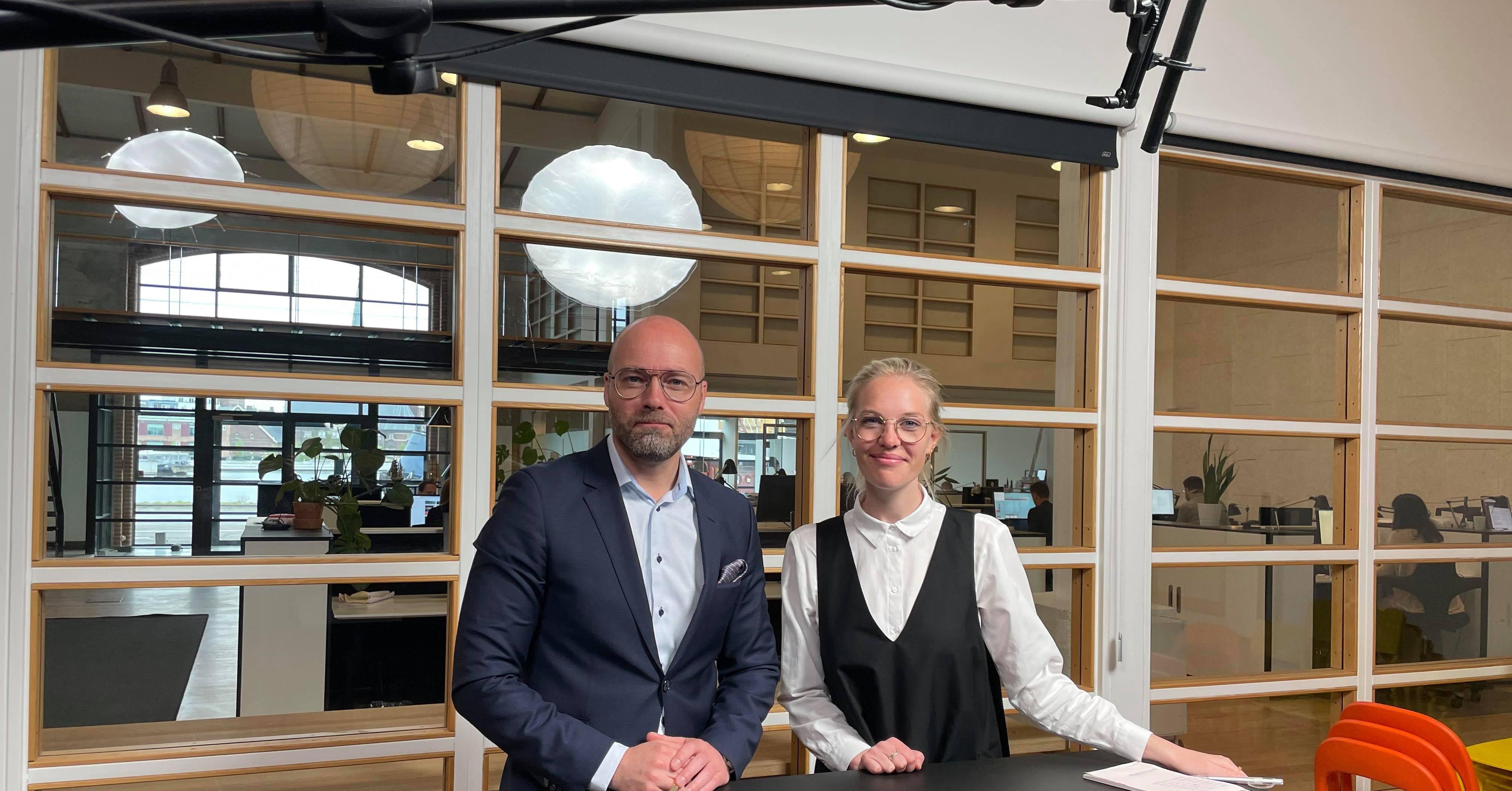 Thomas Mandrup og Signe Ahler fra Publico Kommunikation