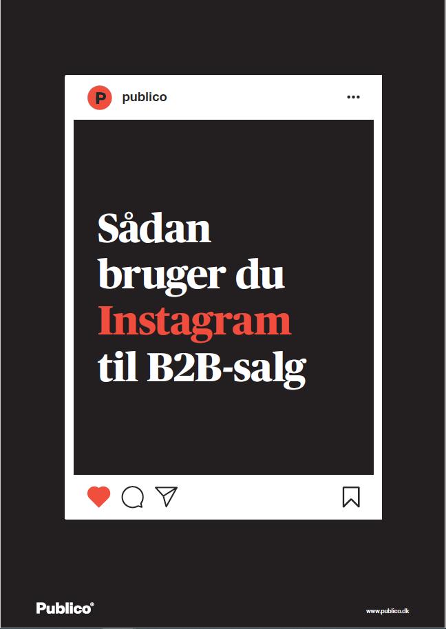 Sådan bruger du Instagram til B2B-salg_forside